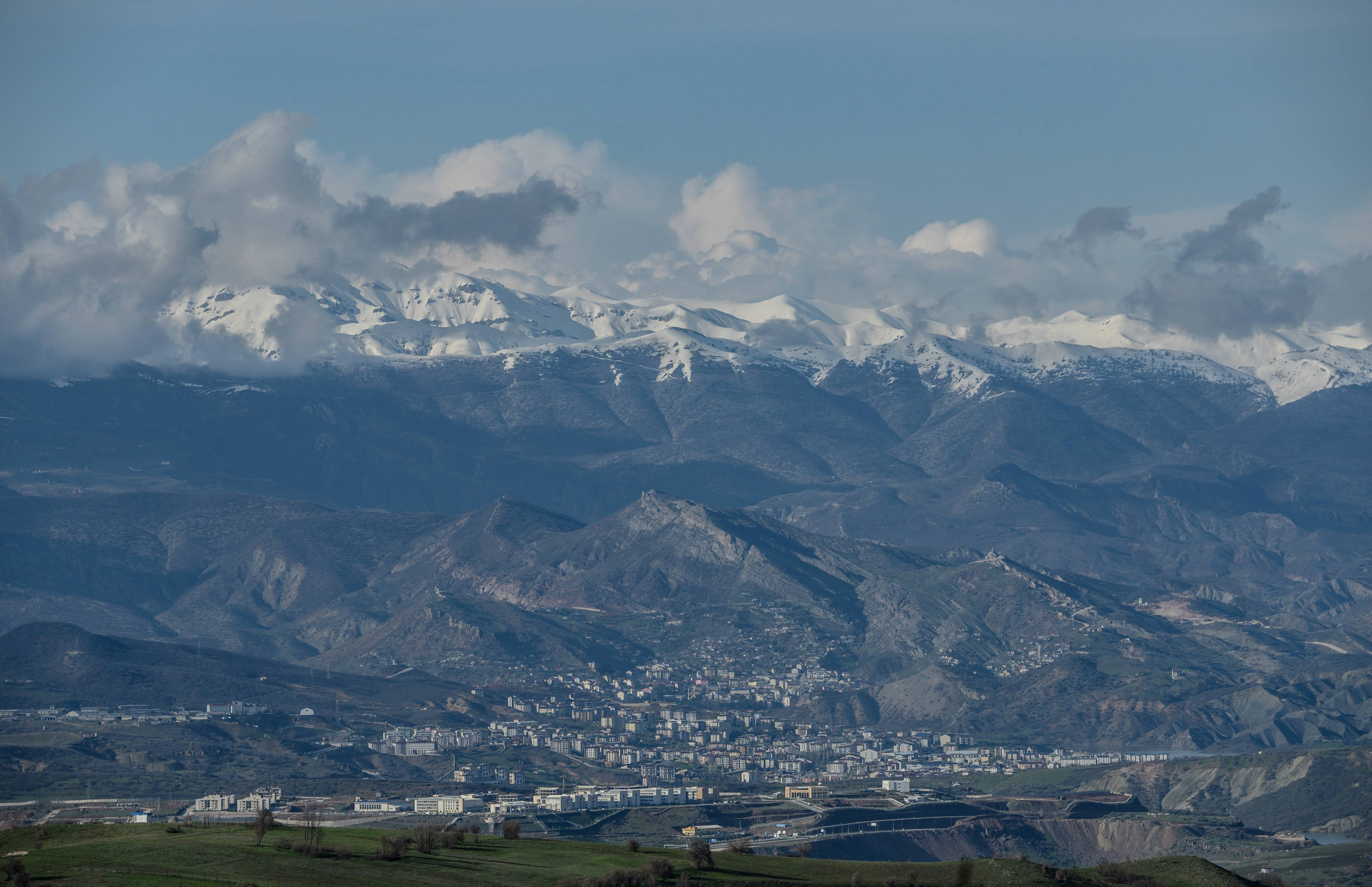 A general view of the eastern Turkish city of Tunceli (AFP)