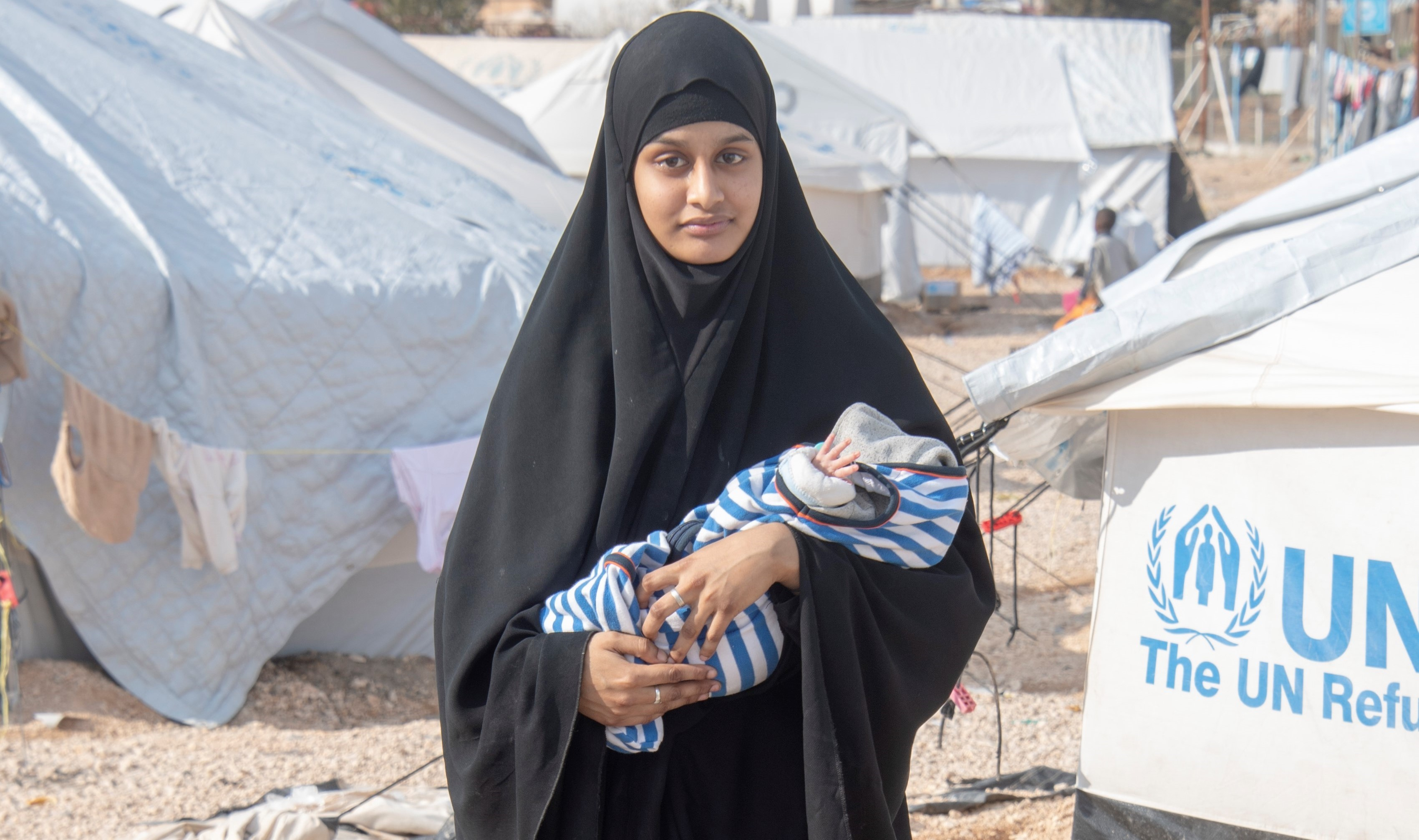 Shamima Begum is still in the camp in Syria