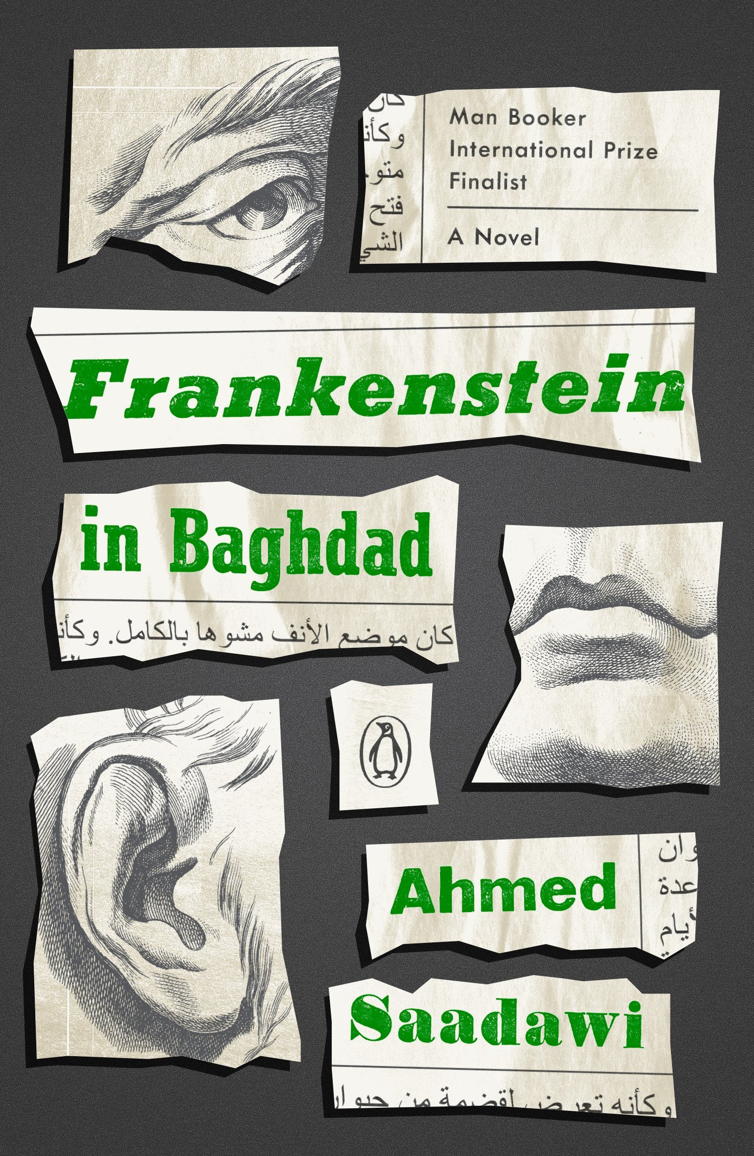 The US edition of Ahmed Saadawi's Frankenstein in Baghdad.