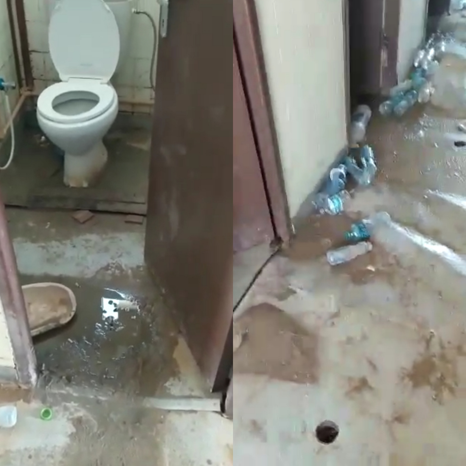 Overflowing sewage and poor wash facilities have prevented workers from cleaning themselves (MEE)