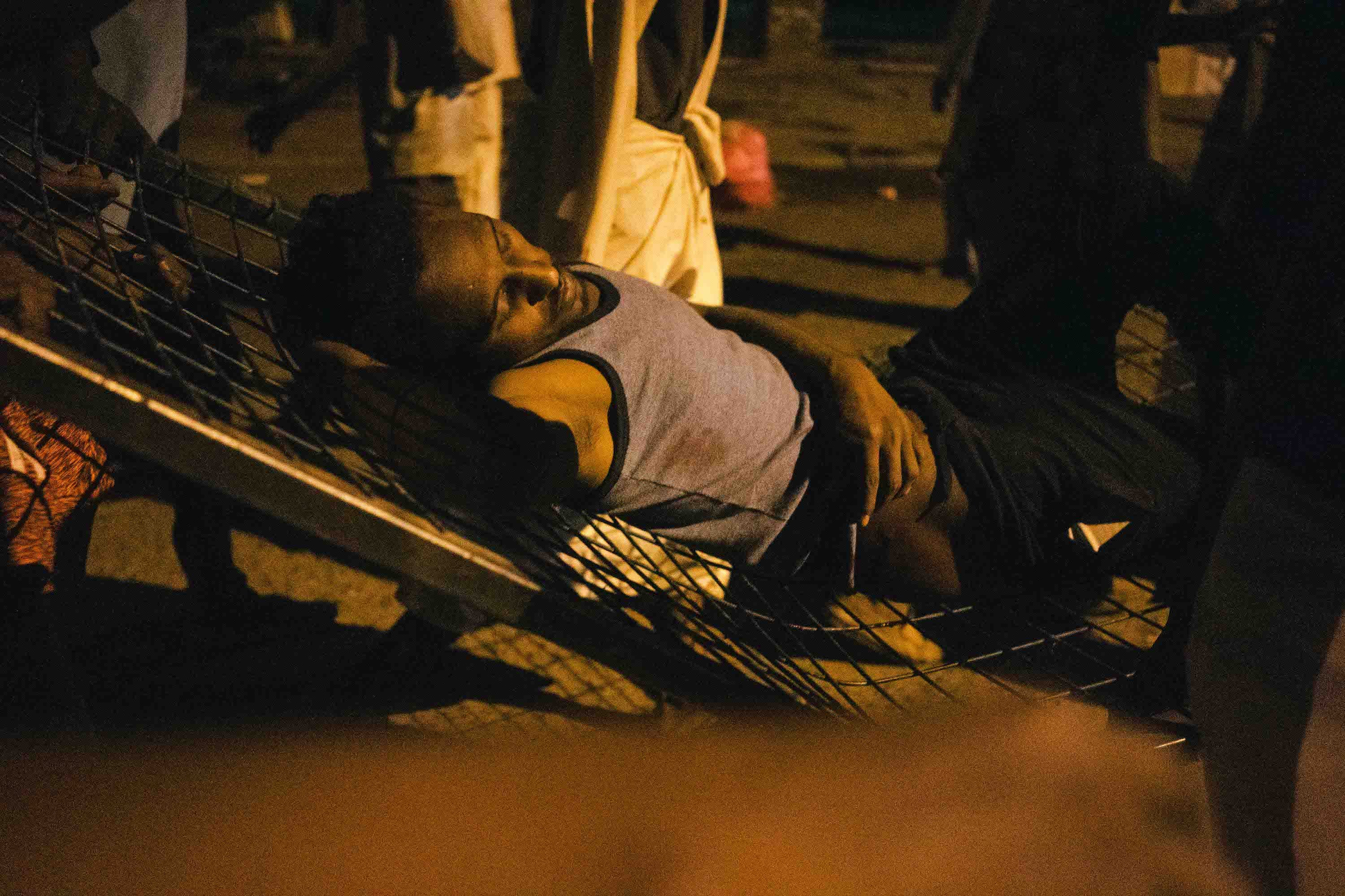 sudan injured protesters