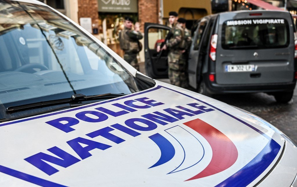 French anti-terrorism officers are pictured in Lille on 3 December (AFP)