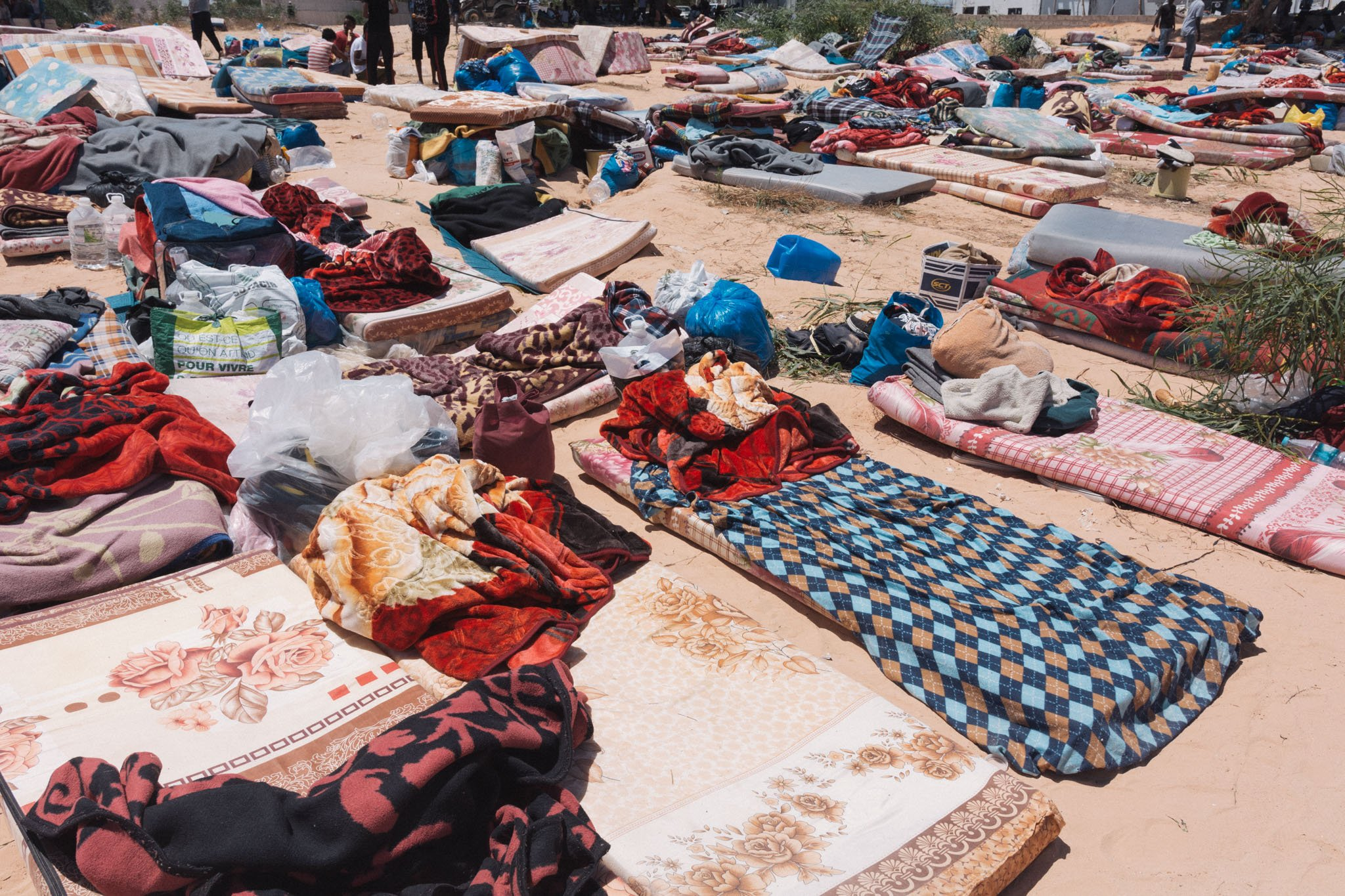 The Tajura camp has now been closed with 400 attack survivors moved to a Gathering and Departure facility (MEE/Francesca Mannocchi)