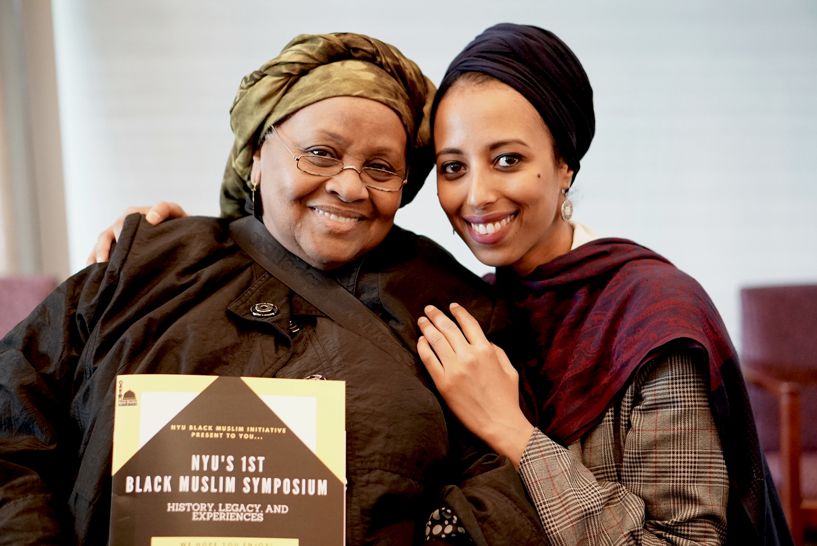 Sister Aisha al-Adawiya and Ifrah Magan