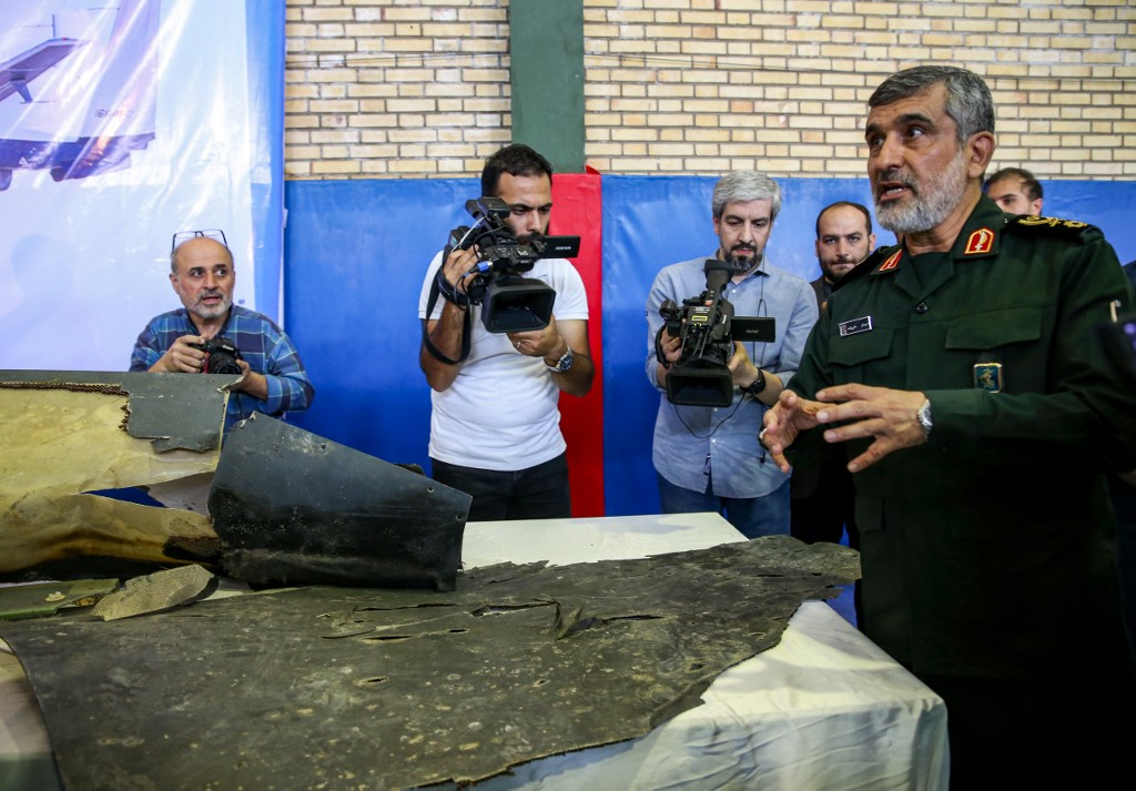 'We have always prepared ourselves for a full-fledged war,' said Iranian revolutionary guards commander Amir Ali Hajizadeh (AFP)