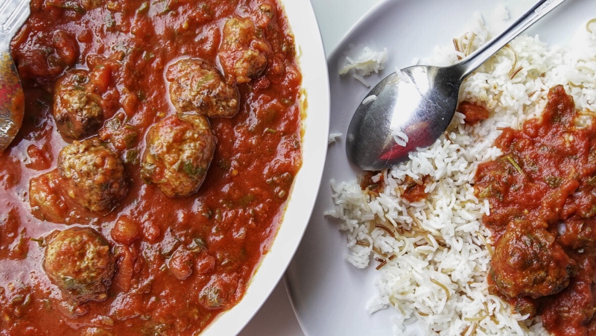 meatballs and rice dawood basha