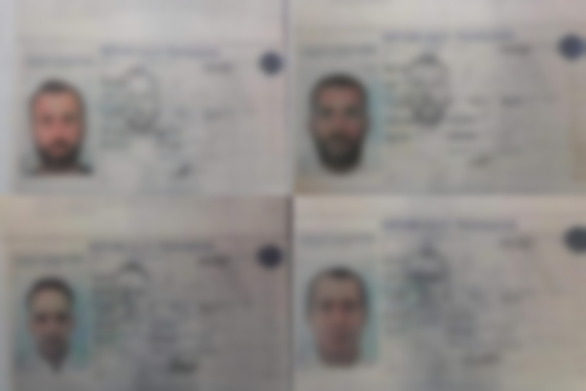 MEE obtained photos of the passports of the armed men who were trying to cross into Tunisia from Libya