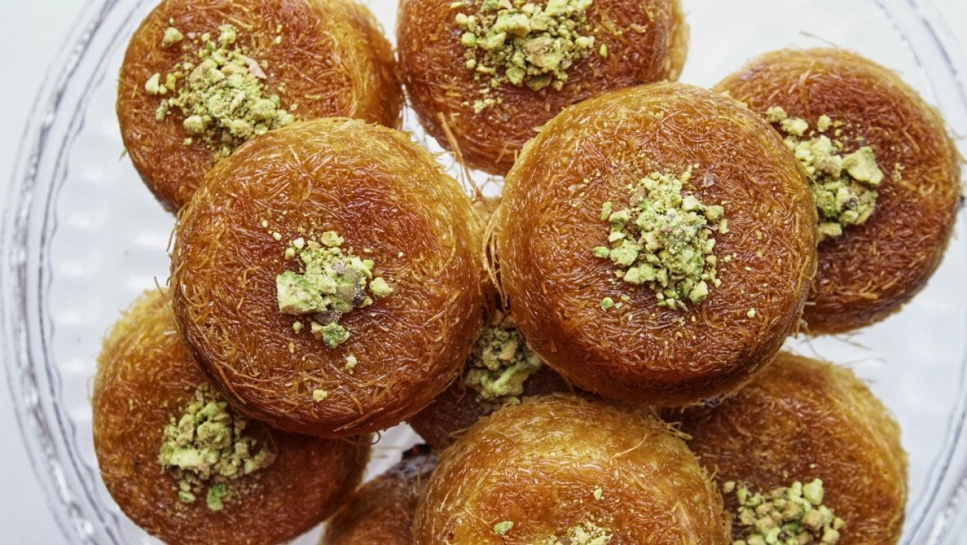 Kunafa is a popular treat during Eid