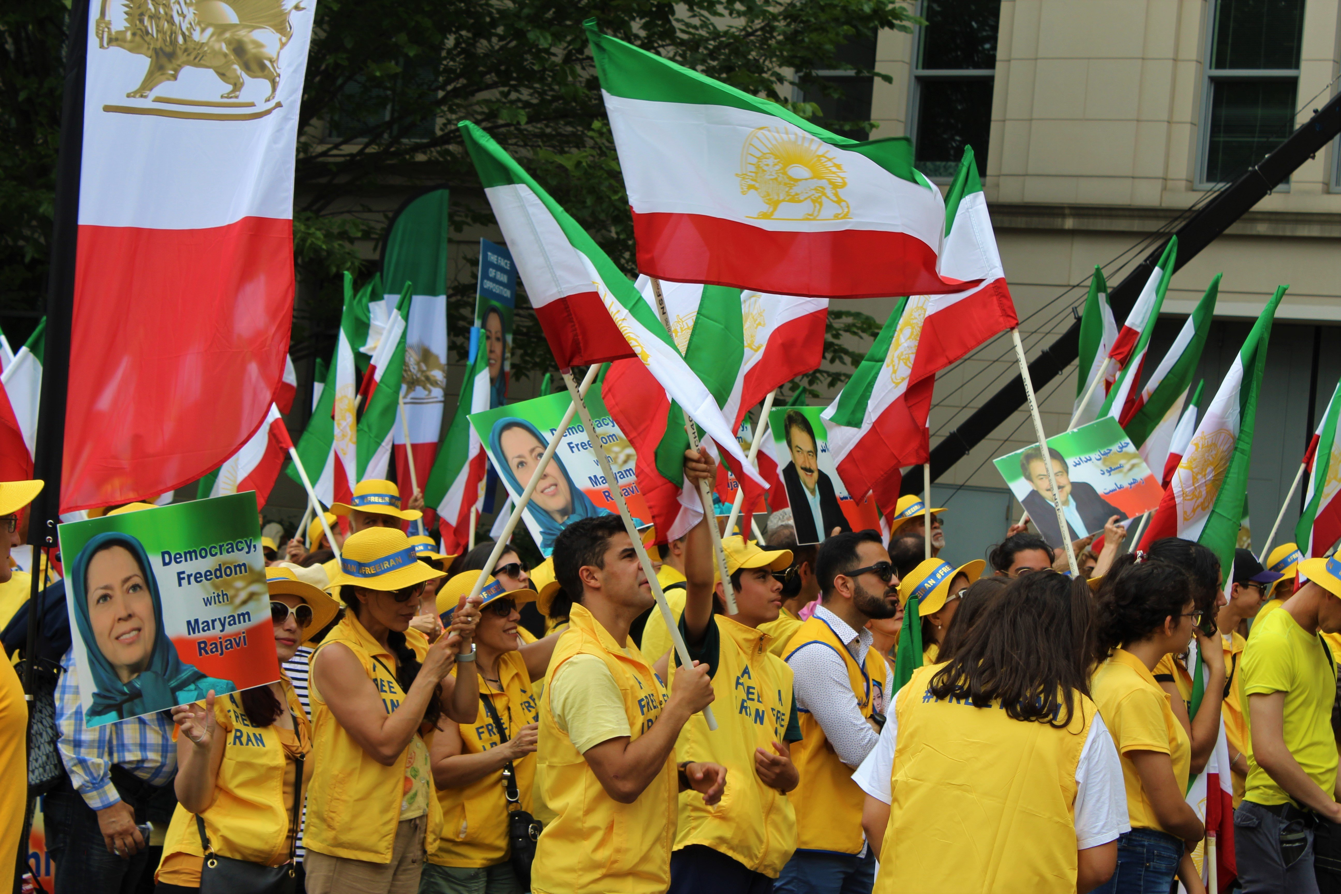 MEK rally, Washington, 21 June (MEE)