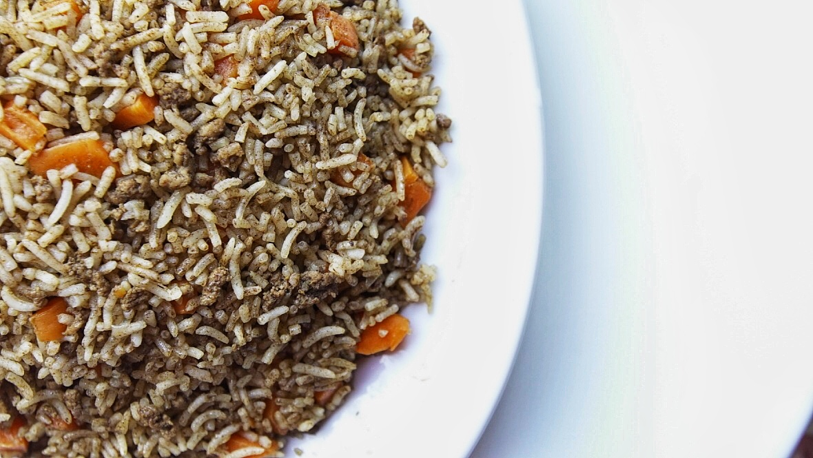 timman bil jizar rice and carrots