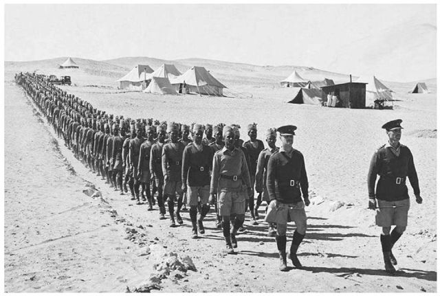 Indian troops served in Egypt as part of the British Protectorate during World War One (creative commons)