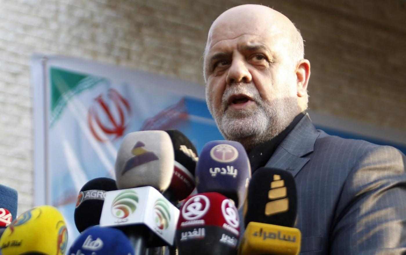 Iran's ambassador to Iraq Iraj Masjedi has been blacklisted in the latest round of US sanctions