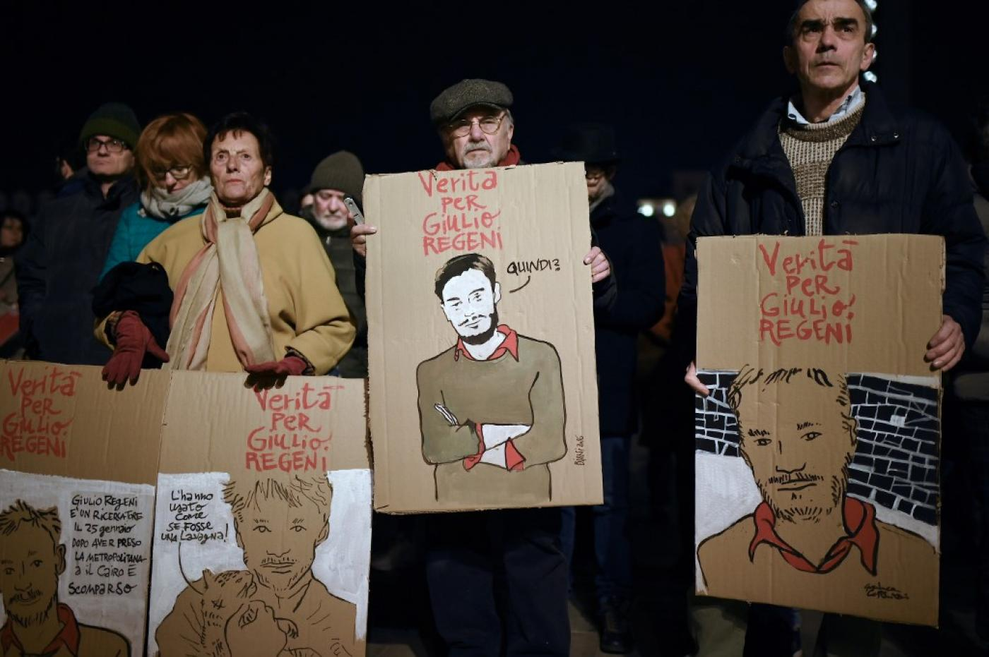 Italian authorities said they plan to charge four senior Egyptian security officials for the murder of Regeni.