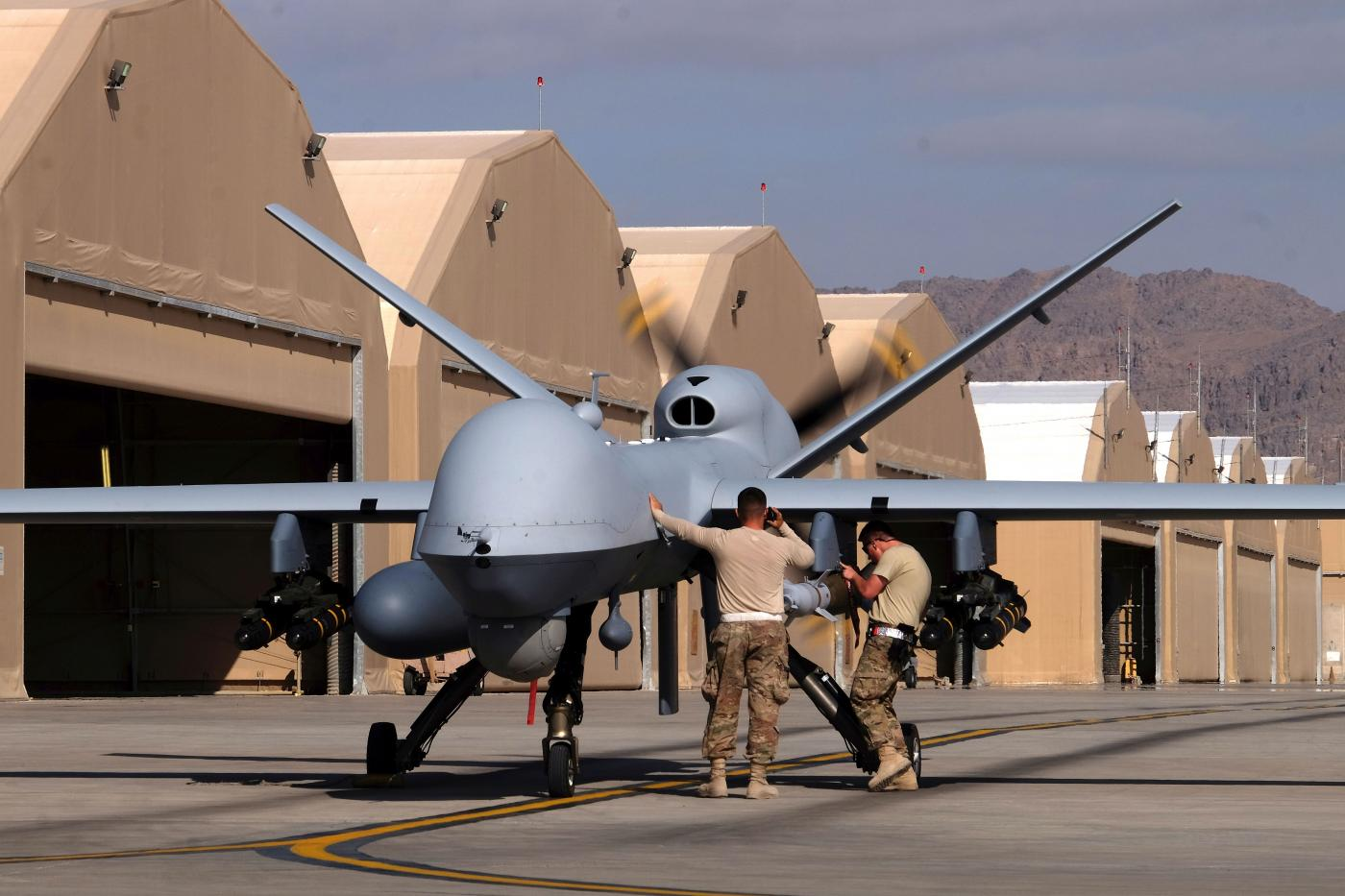The armed MQ-9B drones will be equipped with maritime radar and could be delivered in 2024.