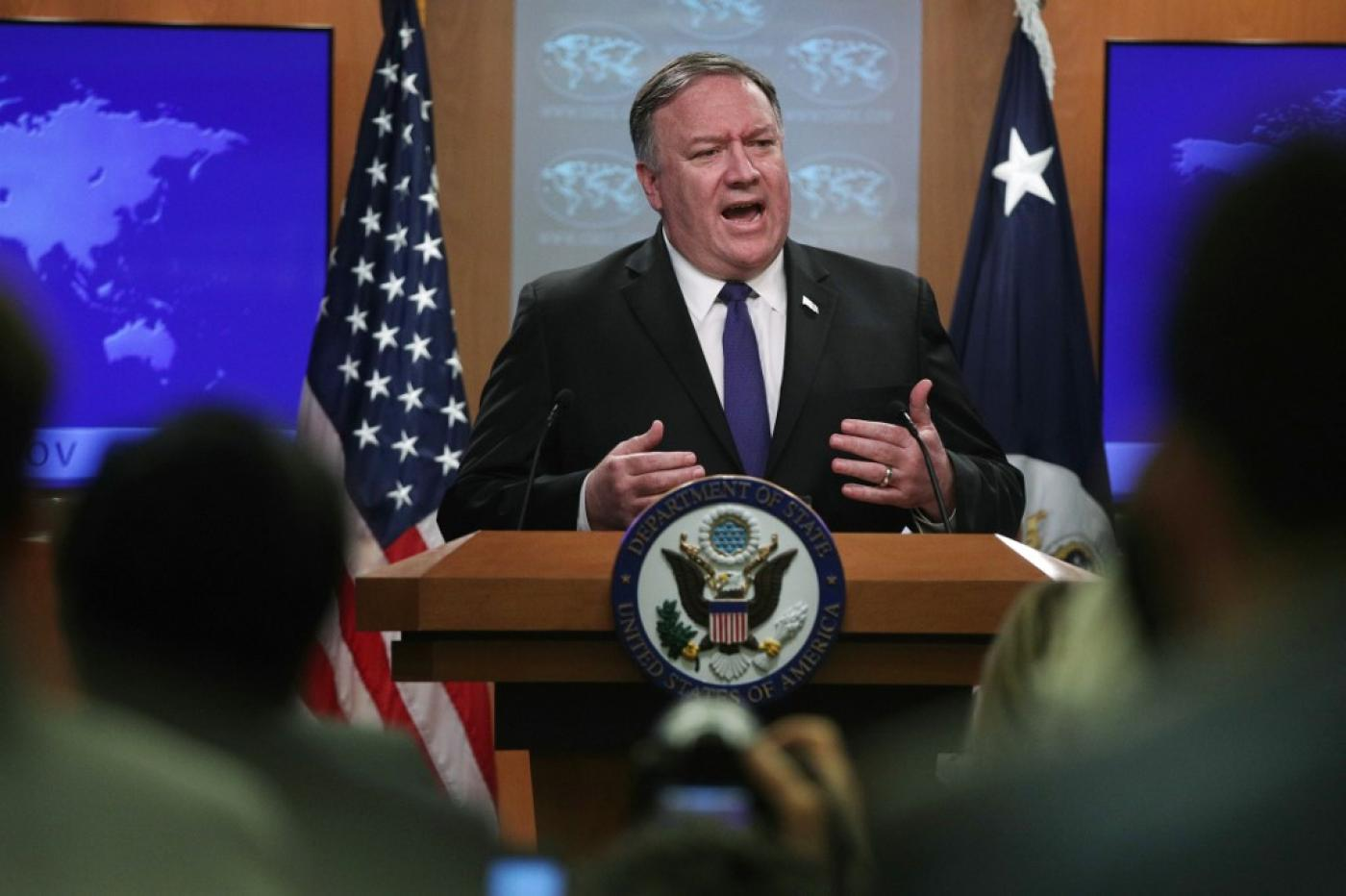 Pompeo said he was confident the Trump administration would make sure the UN embargo is extended.