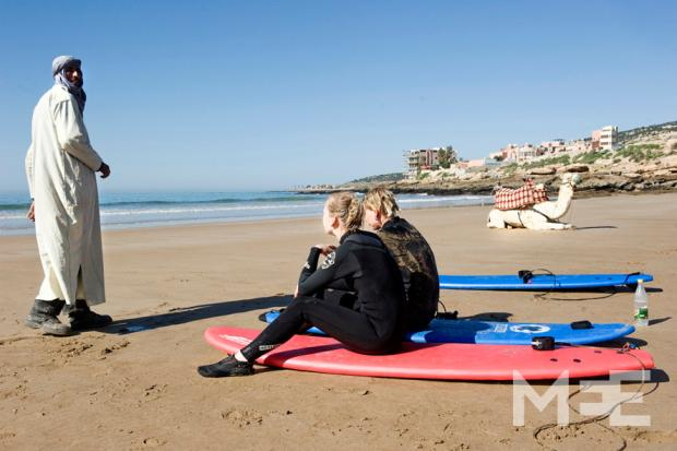 'California Dreaming' in Taghazout (MEE/Rik Goverde)