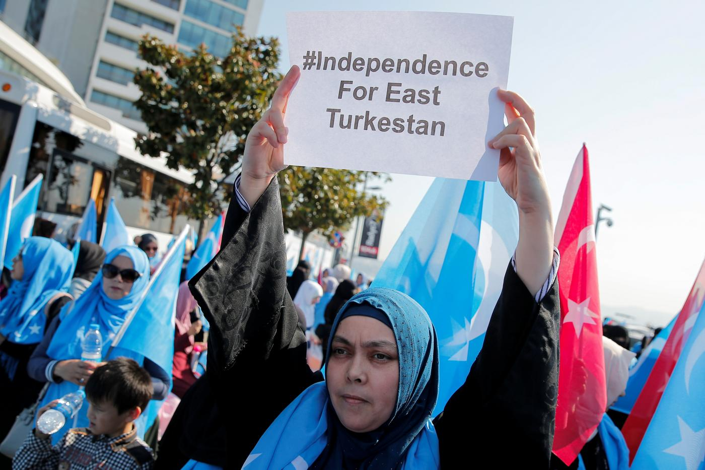 Uighurs have long called Istanbul a home but fear that could end with Turkey's growing relations with China (Reuters)